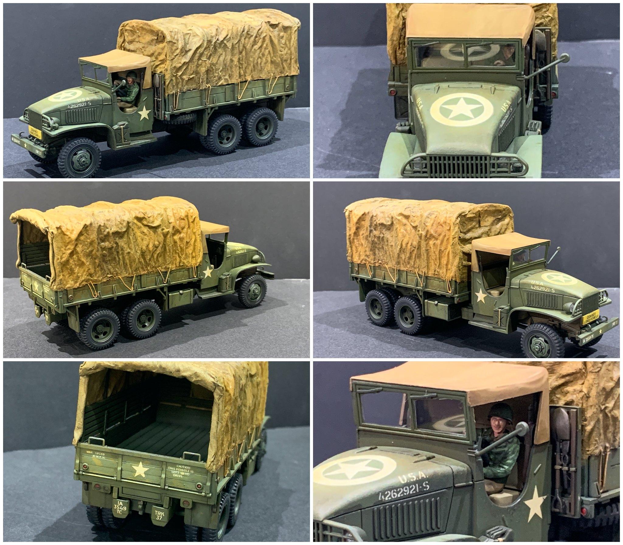 6x6 truck