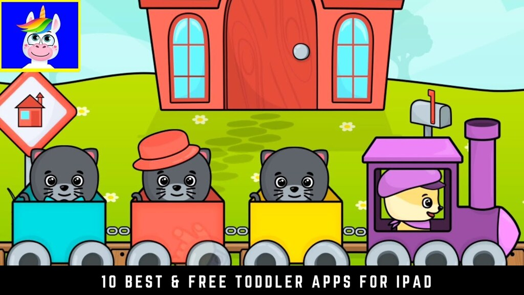 10 Best & Free toddler apps for iPad