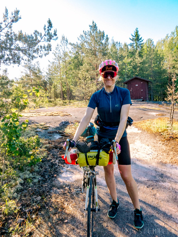 Biking to Kopparnäs June 2020