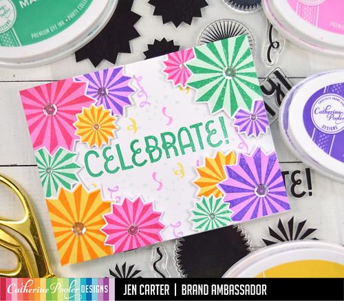 Jen Carter Party Fans Celebrate