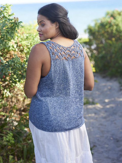 Here is a view of the lace on the back of the Newbury by Amy Palmer.