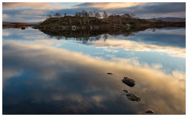 Dawn light at Rannoch Moor, Scotland