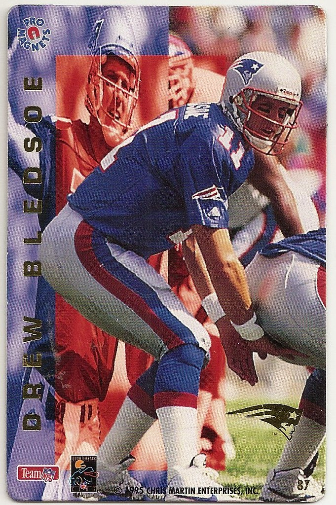 1995 Pro Magnets Football - Bledsoe, Drew