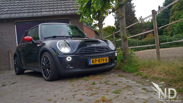 Mini Cooper S R53 JCW Sitting in the driveway 10-06-2020