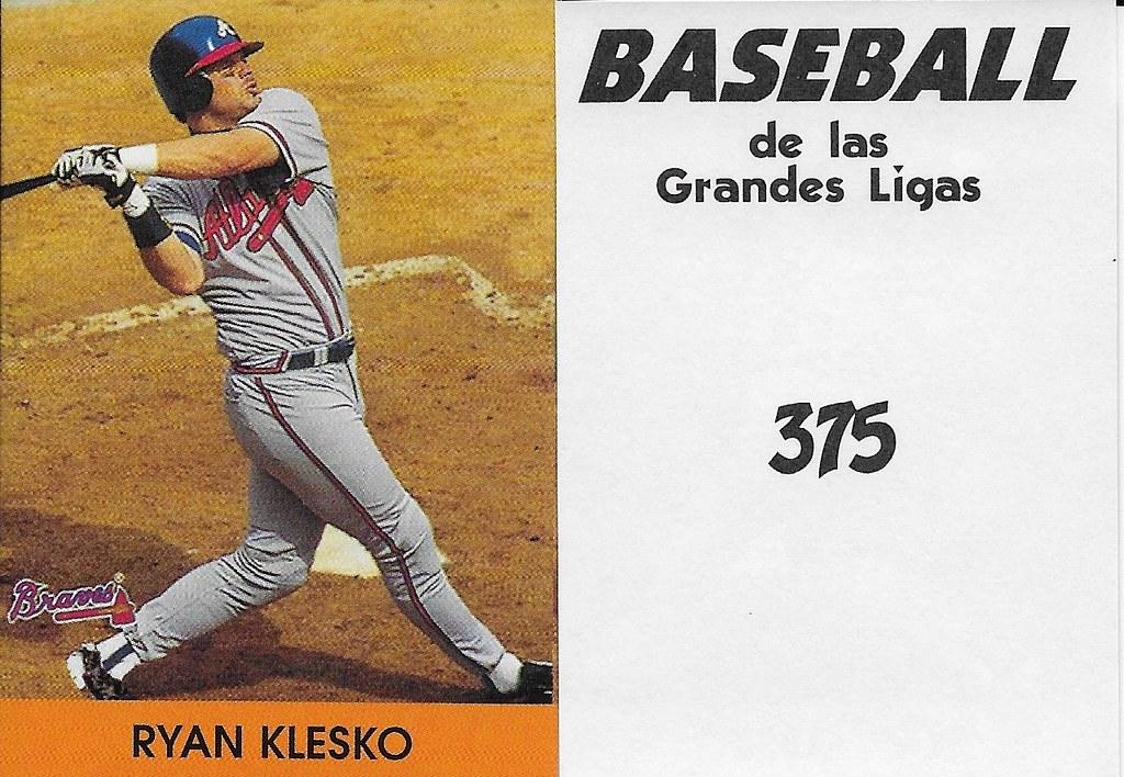 2000 Venezuelan - Klesko, Ryan