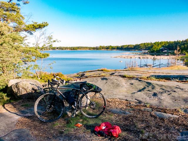 Biking to Kopparnäs June 2020