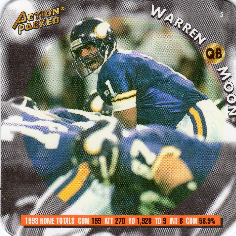 1994 Action Packed Coastar - Moon, Warren