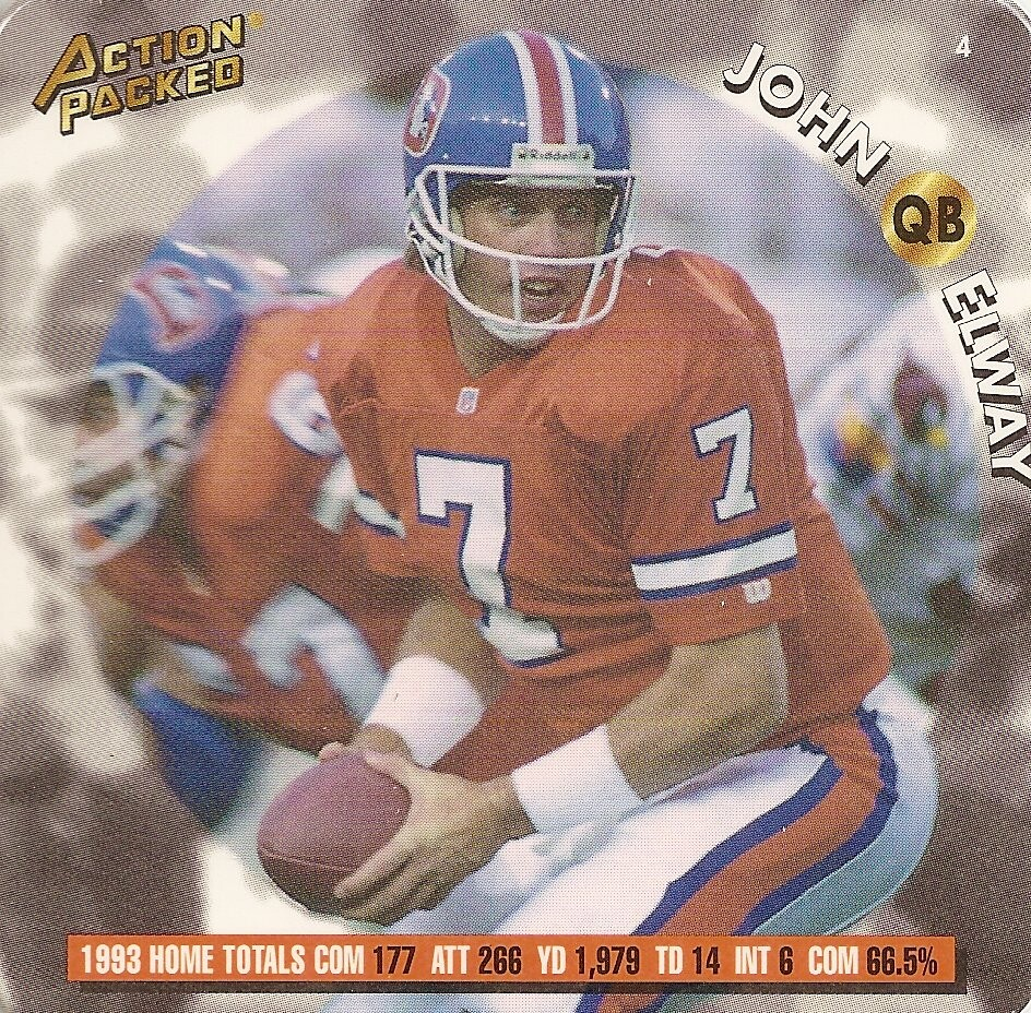 1994 Action Packed Coastar - Elway, John