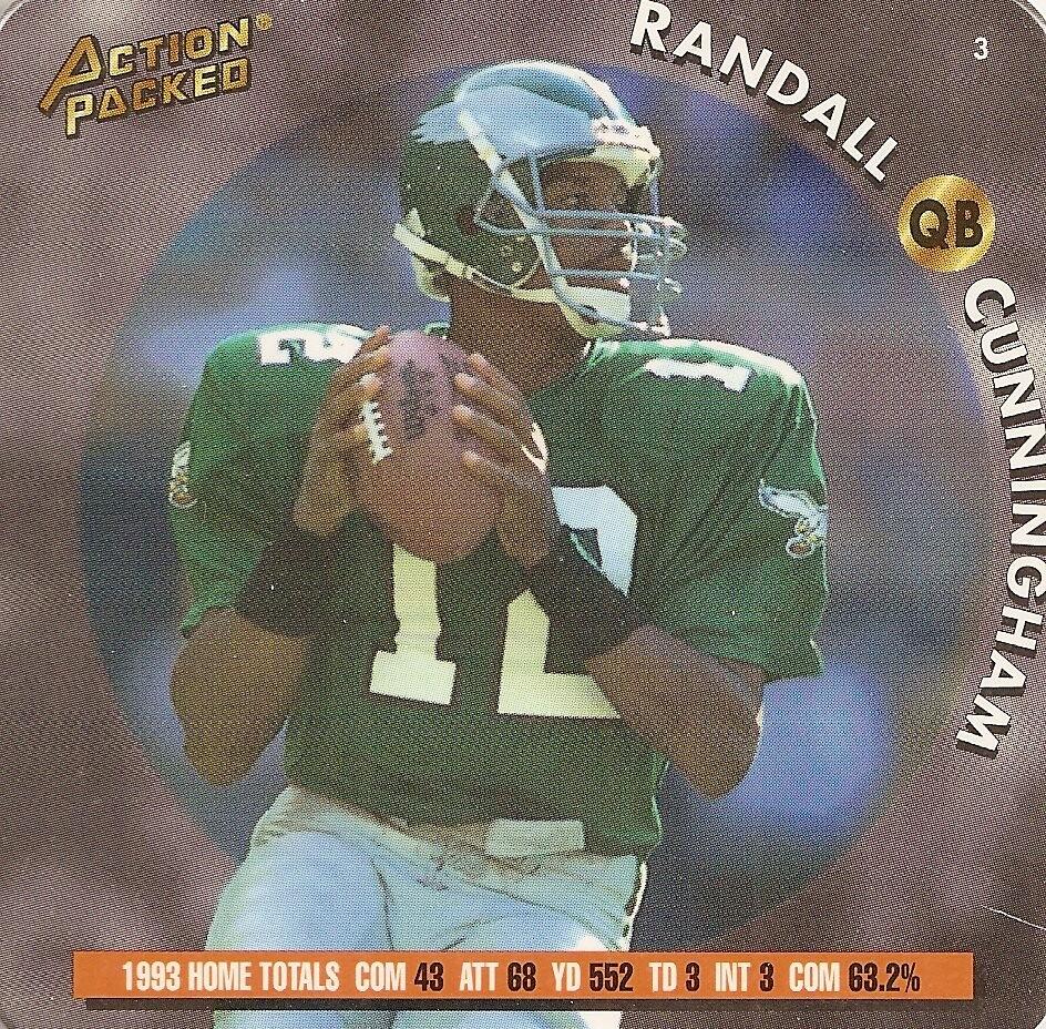 1994 Action Packed Coastar - Cunningham, Randall