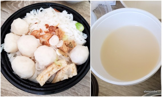 Fish Bone Soup Noodle