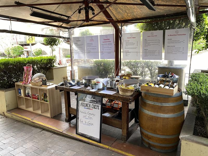 Le Bouchon crepe stall