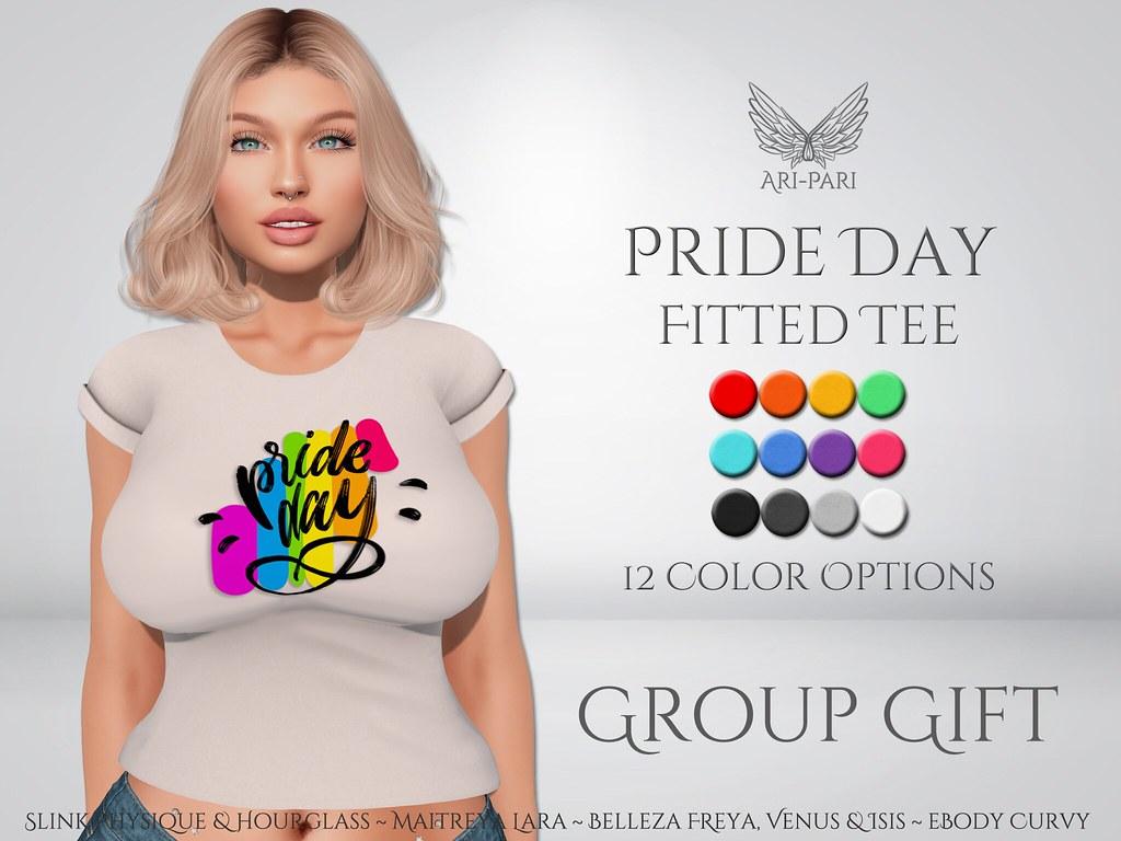 [Ari-Pari] Pride Day Tee