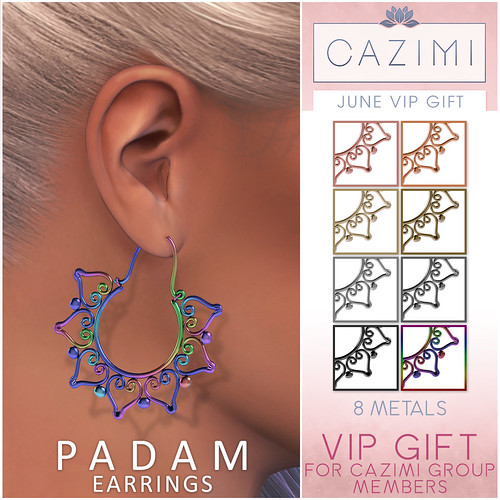 VIP Gift: Padam Earrings
