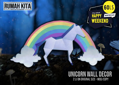 Rumah Kita - Unicorn Wall Decor