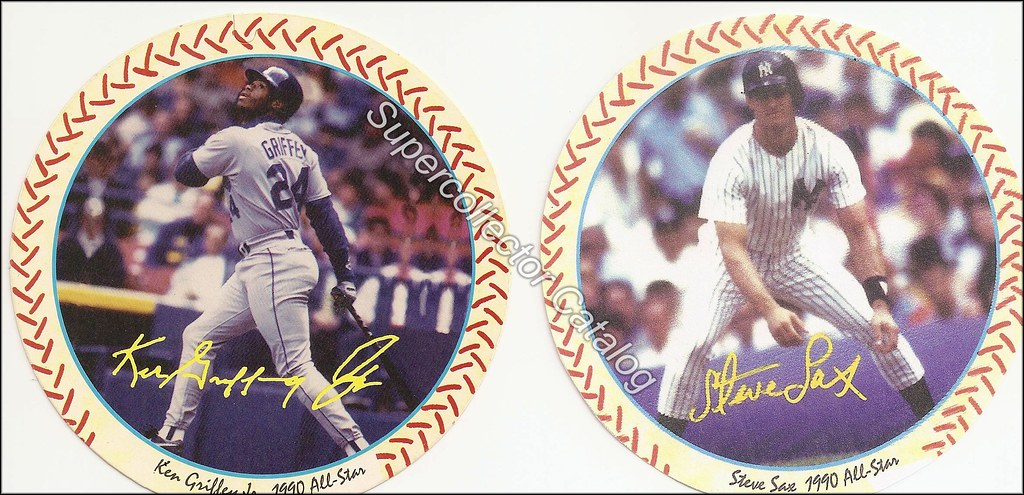 1990 Windwalker Disc - Griffey and Sax