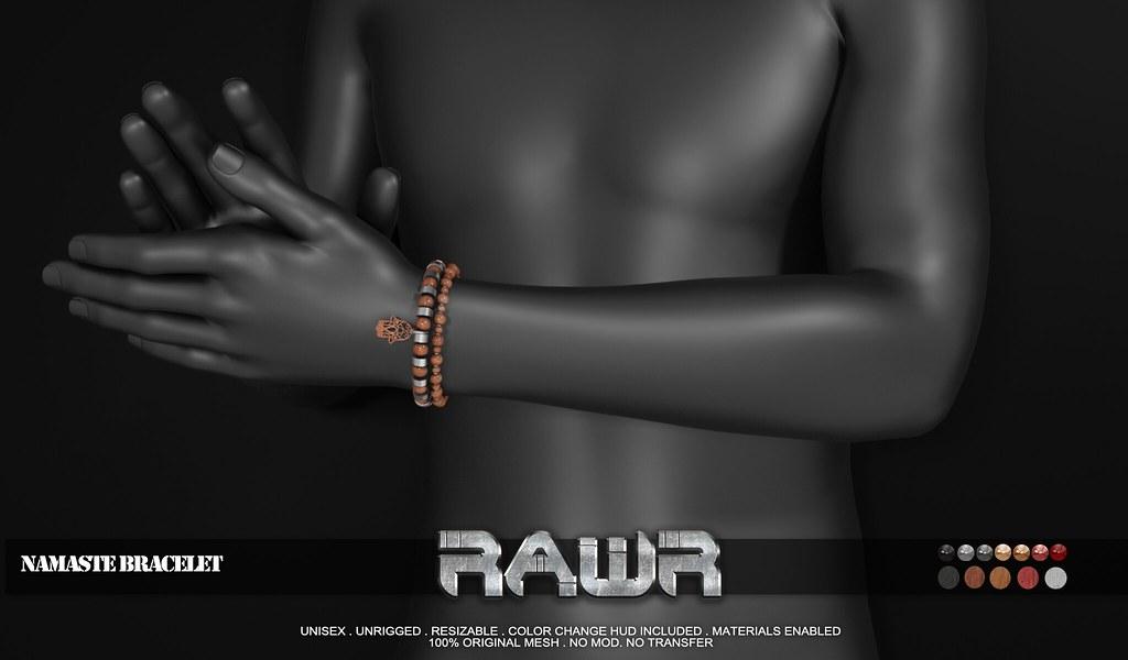 RAWR! Namaste Bracelet PIC