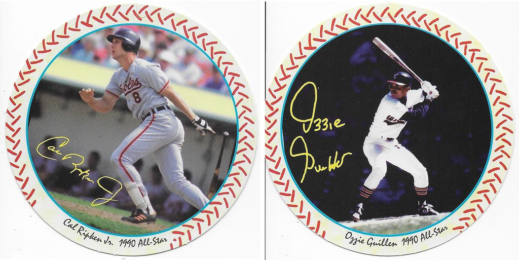 1990 Windwalker Disc - Ripken Jr and Ozzie Guillen