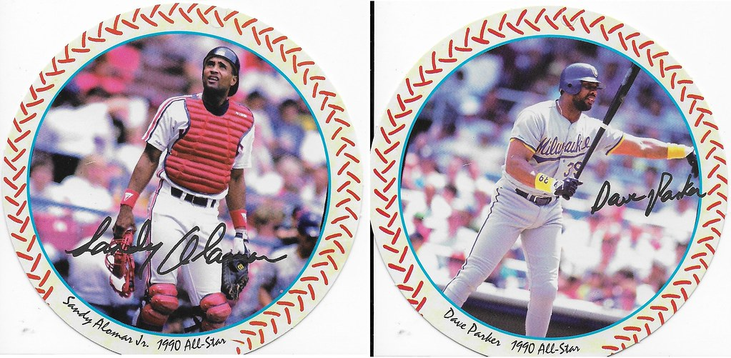 1990 Windwalker Disc - Sandy Alomar Jr and Dave Parker