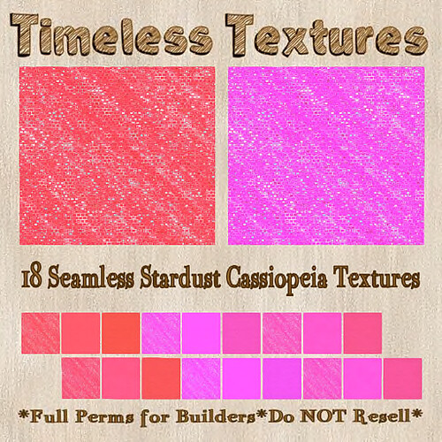 1L PRIZE TT 18 Seamless Stardust Cassiopeia Timeless Textures