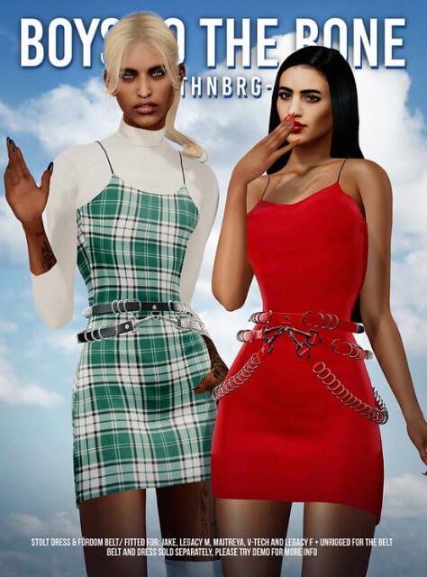 BTTB – Stolt dress & Fördom belt @ equal10