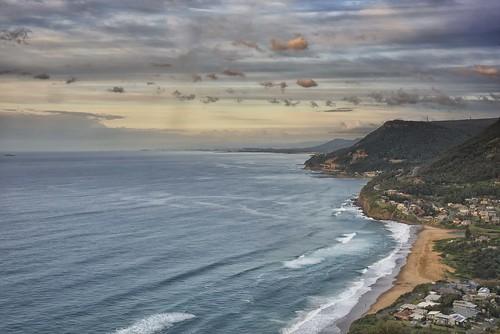 baldhilllookout stanwellpark morning nikond810 nsw sydney australia clouds landscape travel sunrise wollongong