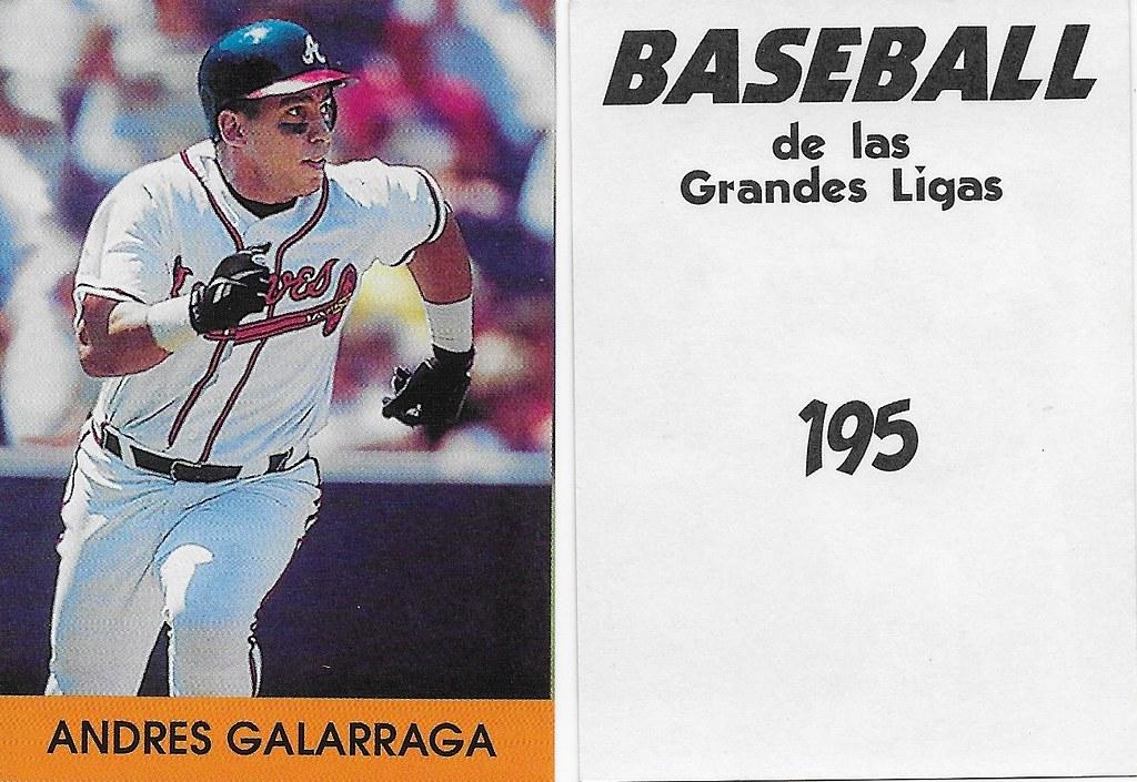 2000 Venezuelan - Galaragga, Andres