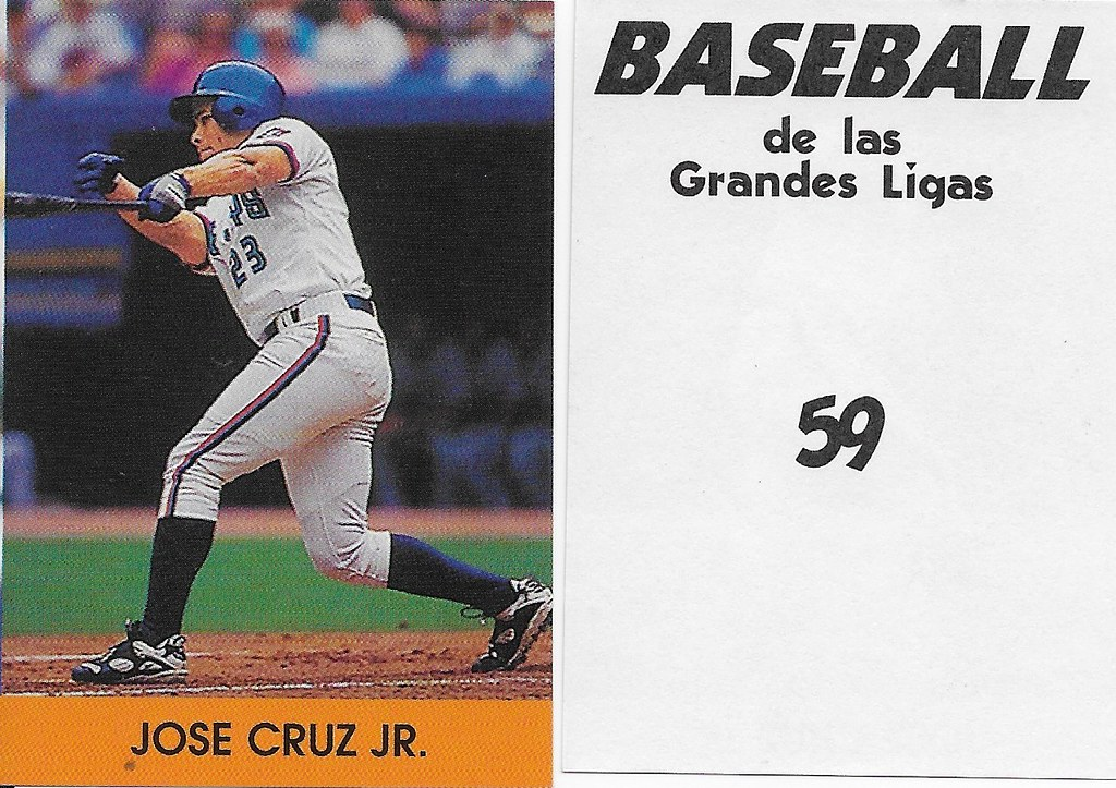 2000 Venezuelan - Cruz Jr, Jose