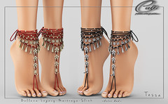 : CULT : Tessa Feet Jewels with HUD