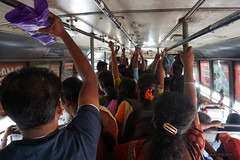 Crowded local bus - Thanjavur