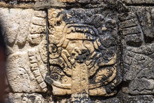 Carvings, Chichen Itza, Mexico's Yucatán Peninsula