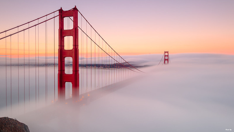 Morning Fog at Dawn