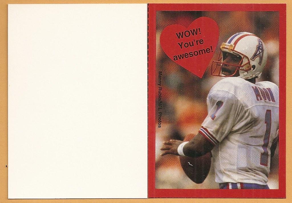 1995 Cleo Valentine Box Card - Moon, Warren