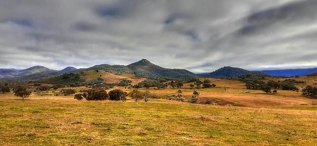 Towards Tidbinbilla Nature Reserve, ACT, Australia
