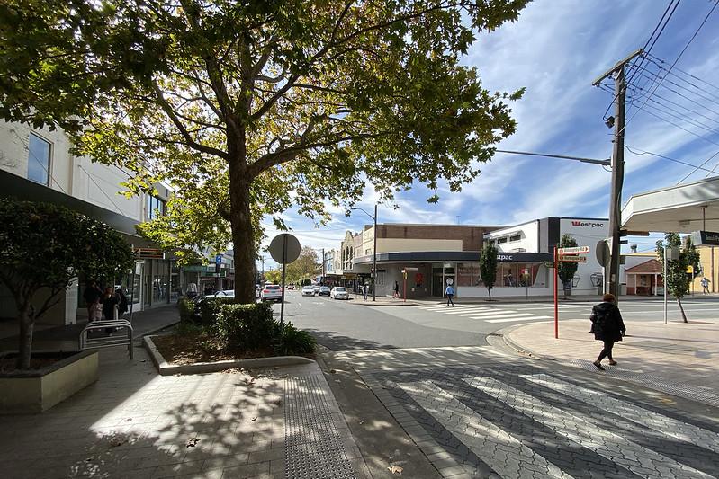 Burlington Street intersection