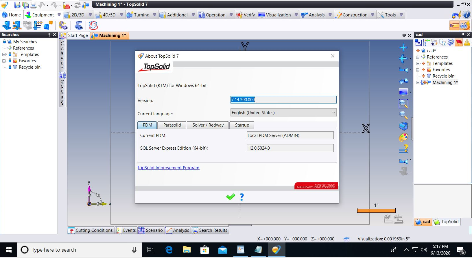 Working with TOPSOLID v7.14 full license