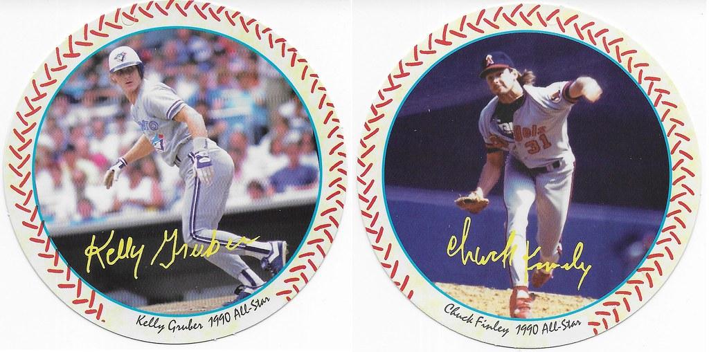 1990 Windwalker Disc - Kelly Gruber and Chuck Finley