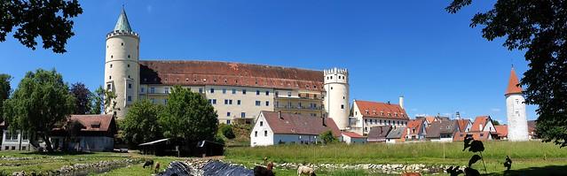 Schloß Lauingen_Panorama