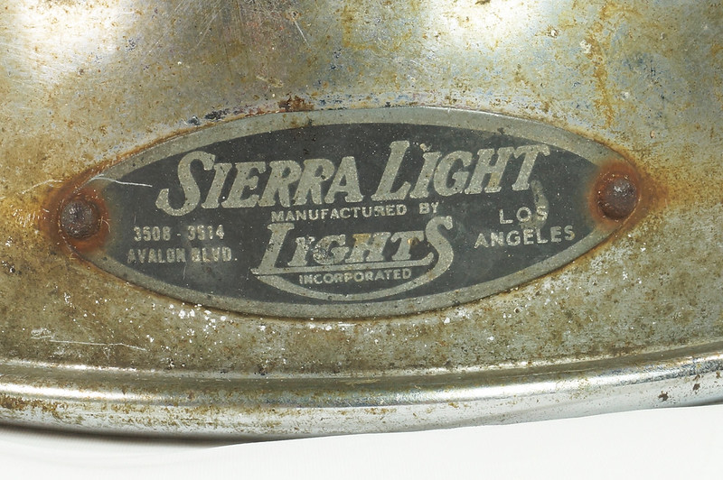 RD24235 Vintage Auto Running Light Sierra Light by Lights Incorporated Los Angeles DSC07776