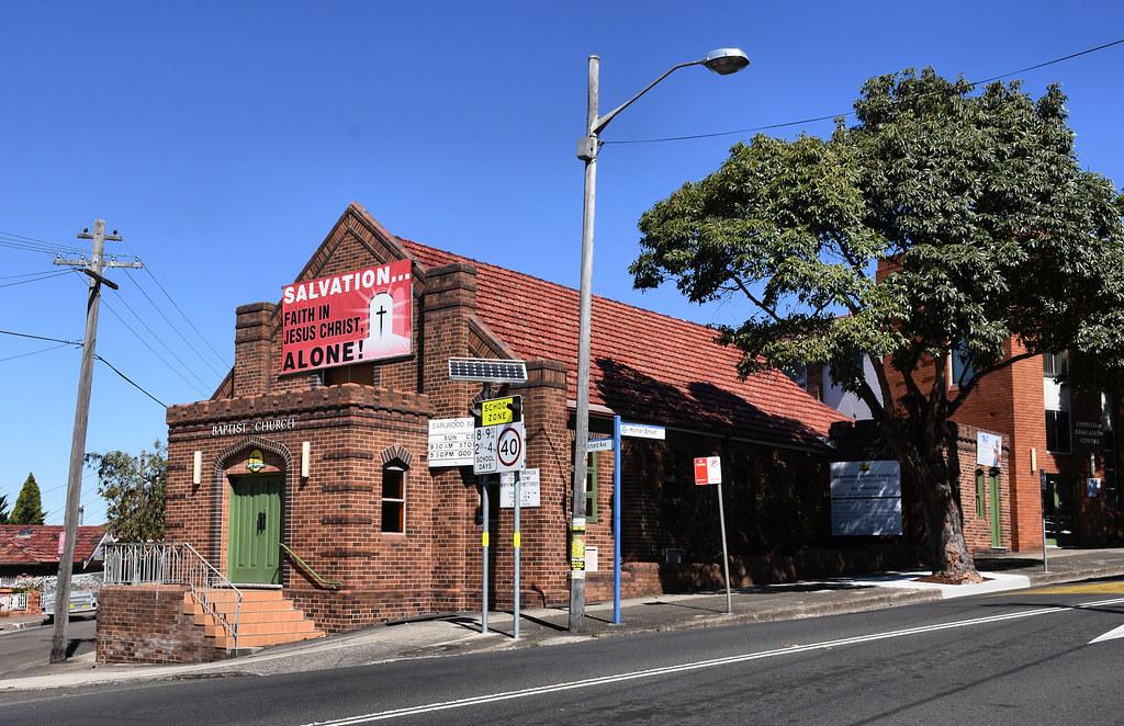 Earlwood Baptist Church, Earlwood, Sydney, NSW.