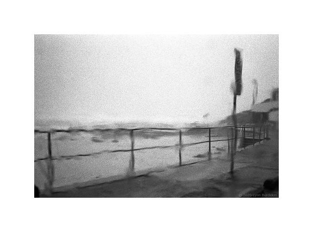rainy day at the beach, Sydney, March 2020  #506