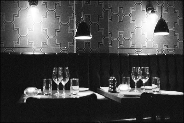 At the Restaurant - Kodak P3200