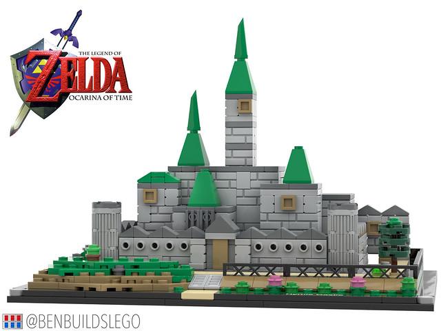 LEGO Hyrule Castle (Ocarina of Time)