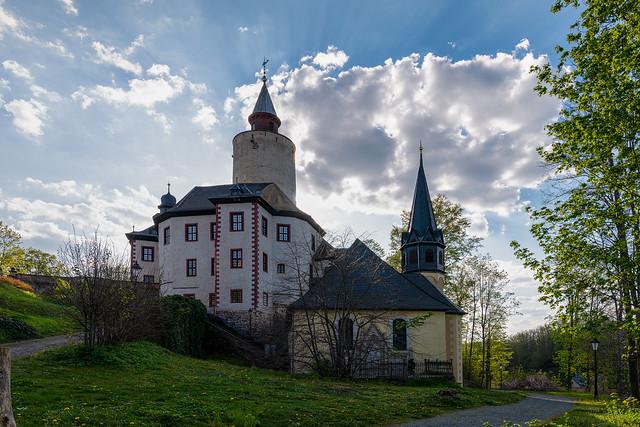 Burg Posterstein mit Burgkirche