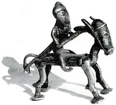Objet trouvé dans la nécropole tumulaire de Chavéria
