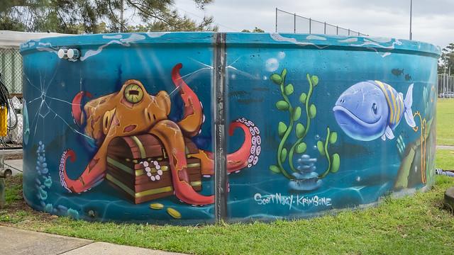3/6 Woolooware Water Tank Art