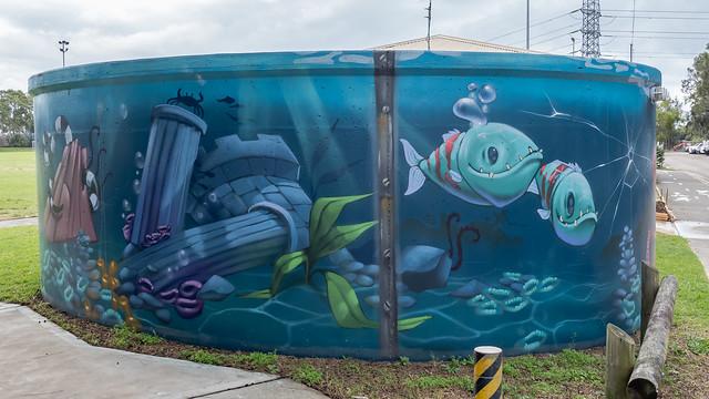 1/6 Woolooware Water Tank Art
