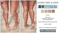 Sandy Feet & Legs