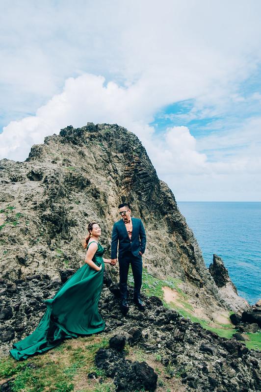 蘭嶼婚紗,蘭嶼秘境,婚紗景點,象鼻岩,環島公路