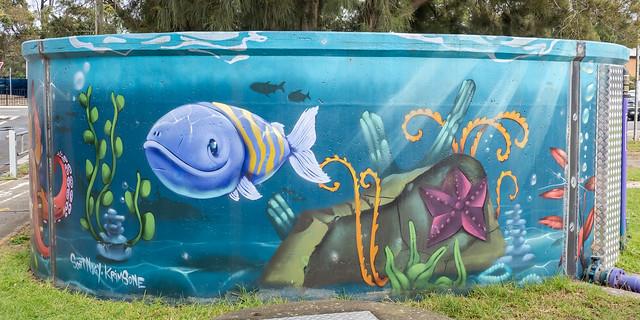 4/6 Woolooware Water Tank Art