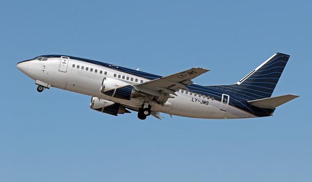 LY-JMS LMML 13-06-2020 KlasJet Boeing 737-522 CN 26680
